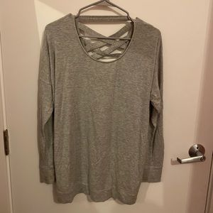 Athleta Grey Sweater
